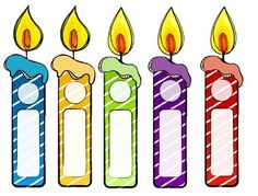Colorful Birthday Candles:Need new candles for your birthday board? Here are five fun candles to add Birthday Chart Classroom, Preschool Birthday, Birthday Bulletin Boards, Birthday Charts, Happy Birthday Cards, Birthday Display, Birthday Wall, Free Birthday, Special Birthday