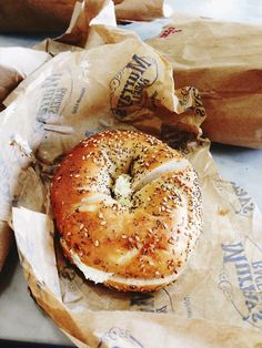 Bagels. The cadillac of bread!