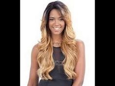 Freetress Equal Lace Front Wig Deep Invisible Part - MIZZY (futura)