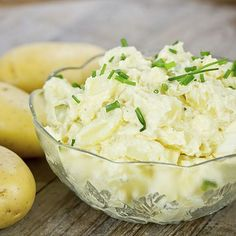 Ours is a blend of idaho potatoes, celery, onion and fresh mayonnaise, ligh Potato Salad Mayonnaise, Potato Salad Dill, Potato Salad Mustard, Potato Salad Dressing, Potato Salad Recipe Easy, Mayonnaise Recipe, American Potato Salad, Potato Salad With Apples, Frozen Potatoes