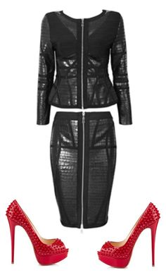 """""""Untitled #105"""" by citygirlmanhattan ❤ liked on Polyvore featuring Christian Louboutin"""
