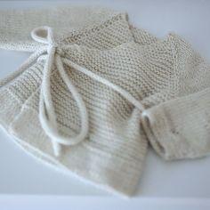 Omslagsrillejakke / wrap - over jacket (norwegian and english)