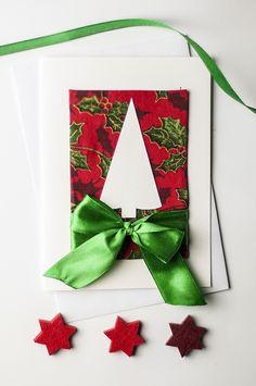 Christmas card idea, handmade by myself