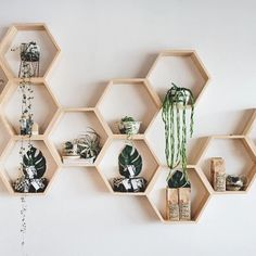 Online Shop INS New Kids Baby Nordic Style Wooden Hexagon Storage Shelf Decorative For Kids Room Chamber Shelf Bookshelf Design Hanging Shelves, Wooden Shelves, Wooden Walls, Storage Shelves, Floating Shelves, Wood Shelf, Box Shelves, Cheap Storage, Unique Wall Shelves