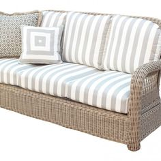 Shop this south sea rattan arcadia wicker driftwood sofa from our top selling South Sea Rattan sofas. PatioLiving is your premier online showroom for patio seating and high-end outdoor furniture. Outdoor Sofa, Outdoor Seating, Outdoor Living, Backyard Seating, Outdoor Rooms, Outdoor Ideas, Wicker Table, Wicker Sofa, Wicker Dresser