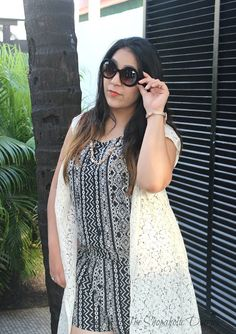 The Shopaholic Diaries - Indian Fashion, Shopping and Lifestyle Blog !: OOTD - Throw-On-And-Go Easy Romper | TSD Goa Diaries