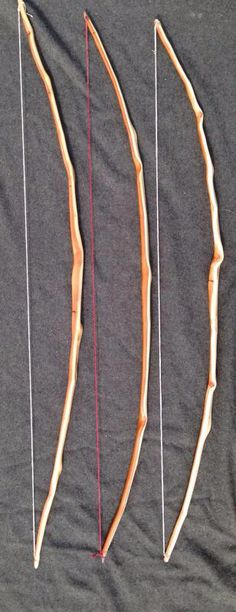 Yew character bows