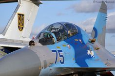 Sukhoi Su-27UB Flanker Ukrainian Air Force RIAT 2011 (4)