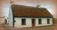 Irish cottage, thatched. Click on the photo to see it on our Facebook page alongside many other beautiful Ireland photos.