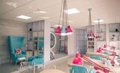 Картинки по запросу дизайн салона красоты розовый