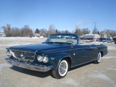 1963 Chrysler 300 for sale near Milbank, South Dakota 57252 - Classics on Autotrader Chrysler 300 Convertible, Plymouth Satellite, Dodge Chrysler, Car Buyer, Car Prices, Car Finance, Best Classic Cars, Dodge Charger, Mopar