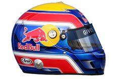 Mark Webber helmet