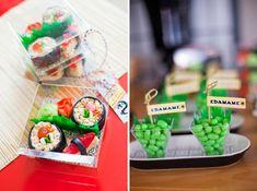 ninjago-ninja-birthday-party-candy-sushi party favors!