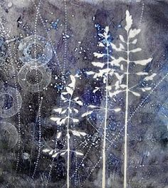 printmaking without a press with Linda Germain