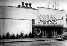 coral theater, Oak Lawn.        i took my daughter to see her first film here.  a re-release of Sleeping Beauty