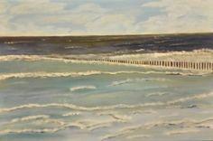 Summersea (acrylic on canvas - 40x60 - 111115)