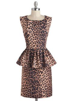 In Hot Purr-suit Dress, #ModCloth @Lauren Stacy this looks like you.