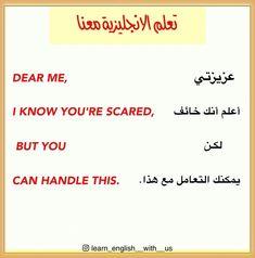 #learn_english_wi_us #Learn #تعلم_الانكليزية_معنا #تعلم_الانجليزية #تعلم_اللغة_الانجليزية #اكسبلور #اكسبلور_explore #البصرة #iraq Beautiful Words In English, Dear Me, Learning Arabic, Arabic Love Quotes, Digital Photography, Learn English, Words Of Motivation, Dress, Learning English
