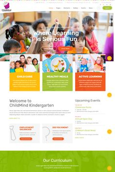 Child Mind - School Learning, Agncy PSD Template is a fully complete creative PSD template that includes 19 pages. The design is modern, clean and elegant. Photoshop Fail, Photoshop Tutorial, Children's Book Week, Kids Web, Web Design Agency, Presentation Design, Psd Templates, Learning Activities, Website Ideas