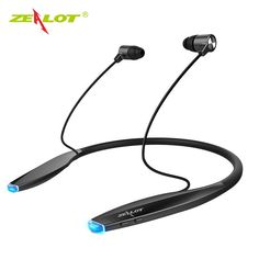 Cheap price US $19.72  New ZEALOT H7 Bluetooth Earphone Headphones with Magnet Attraction Slim Neckband Wireless Headphone Sport Earbuds with Mic  Search here: DVR