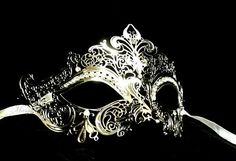 Hey, I found this really awesome Etsy listing at http://www.etsy.com/listing/155864462/gold-silver-metallic-masquerade-mask