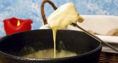 los ingresos de fácil rápido de fondue de queso