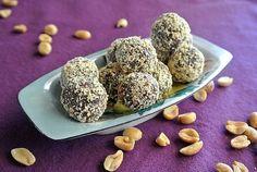 Peanut Butter Chocolate Candy Balls Recipe - Vegan in the Freezer