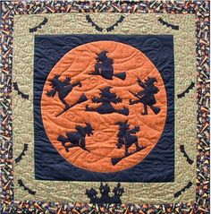 Quilt Pattern Su Sun Designs Life Is A Witch and Then You Fly Halloween Wicca | eBay