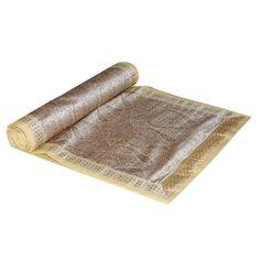 Geschenke für jeden Anlass Brokat Benaras Seide Tischläufer 182 x 33 cm von ShalinIndien, http://www.amazon.de/gp/product/B002VPMIZM/ref=cm_sw_r_pi_alp_NRSWqb05E8N8V