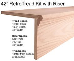 "42"" RetroTread kit with Riser"