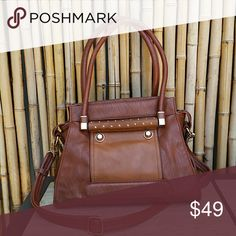Cognac Brown Satchel EUC! 10 x 13 x 5  💲Bundle & Save!💲😀 🚫No Trades/No Holds 🙄😘  🔘Use OFFER button to negotiate👍🤑 ❔Please Ask ?'s BEFORE you Buy🤔😃 💕Thank you for shopping my closet!💕 Real Haute Trends  Bags Satchels