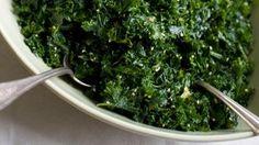 Thanksgiving Recipes - NYT Cooking  Lemon Garlic Kale Salad