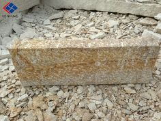 granite palisades by G682 yellow; all sides pineappled; 100x20x8cm/100x12x12cm etc.  august@lxcc.com
