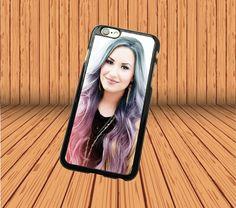Demi Lovato for iPhone 4/4s Hard Case Back Cover Laser Technology #designyourcasebyme