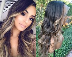Brunette Hair Color With Highlights, Brown Blonde Hair, Light Brown Hair, Beige Blonde, Brunette Color, Color Highlights, Bronde Balayage, Hair Color Balayage, Honey Balayage