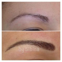 eyebrow tattoo. What every single one of them should look like.: awesome work!