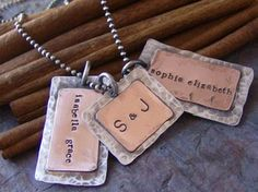 Hand Stamped Dog Tags