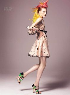candy Julia Nobis for Vogue Australia May 2011 by Kai Z Feng