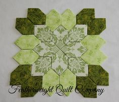 Lucy Boston Patchwork of the Crosses Quilt Block kit # 59 by FeatherweightQuiltCo on Etsy (null)