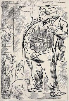 George Grosz Caricatures