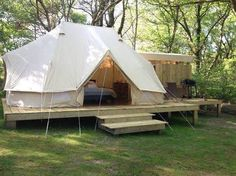 Sibley 600 Twin Ultimate - Canvas Glamping Tent - Unique Design; Zipped-in Floor