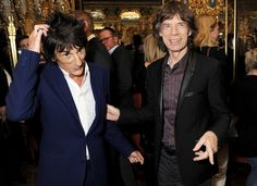 the rolling stones mick jagger ronnie wood