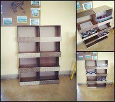 DIY : le meuble en ramettes de papier – Tablettes & Pirouettes