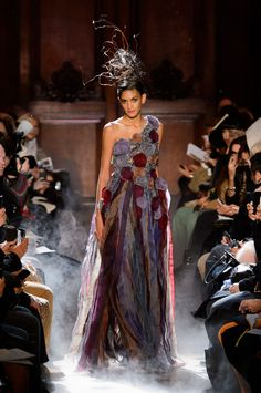 Frank Sorbier at Couture Spring 2015 - StyleBistro