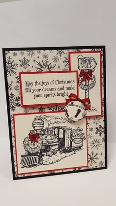 Stampin Up Christmas Magic Stamp Set - Oct 2016
