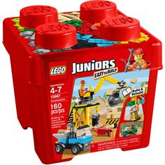 $15 LEGO Juniors Construction Building Set for chi's big brother gift bag
