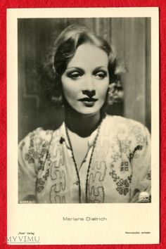 Marlene Dietrich Verlag ROSS... w Pocztówki Artystyczne w MyViMu.com