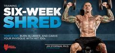 Six Week Shred: Torch Fat With HIIT 100s