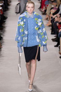 Michael Kors Collection, вязаные тренды осень зима 2016 2017, подиум коллекция, новые коллекции брендов, вязаная мода осень зима (фото 3)