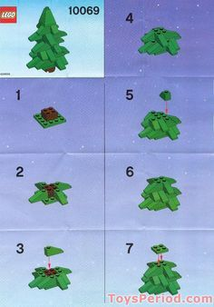 LEGO Christmas Tree Instructions | LEGO 10069 Christmas Tree Set Parts Inventory and Instructions - LEGO ...